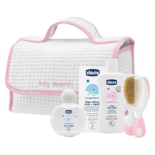 Chicco Kozmetikum táska - 5db #rózsaszín