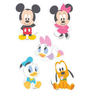 Marko habszivacs falidekor Mickey bébik szett 5 részes --SRMK-601 30328545