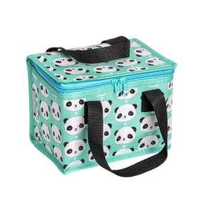 A Little Lovely Company Hűtőtáska - Panda #türkiz 30490538 Étel-Ital tároló
