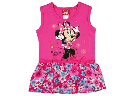 d933d69e5e Disney Minnie lányka ujjatlan, alul virágos ruha   Pepita.hu