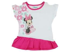 Disney rövid ujjú Kislány ruha - Minnie Mouse #fehér-rózsaszín