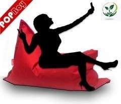 XL 2in1 Párna #piros-fekete 30495767 Babzsák fotel, ülőke