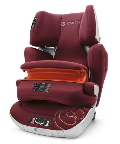 Concord Transformer XT Pro Autósülés 9-36kg - Bordeaux Red #bordó