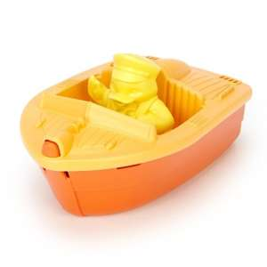 Green Toys Mini Hajó Narancs 30403831 Autós játékok, autó, jármű