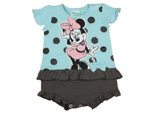 Disney rövid ujjú Napozó - Minnie Mouse #kék-fekete