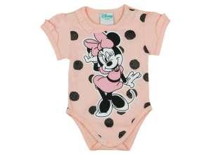Disney rövid ujjú pöttyös Body - Minnie #lila 30386107 Body