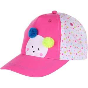 Yoclub Baseball sapka - Maci #rózsaszín 30376527 Gyerek baseball sapka, kalap