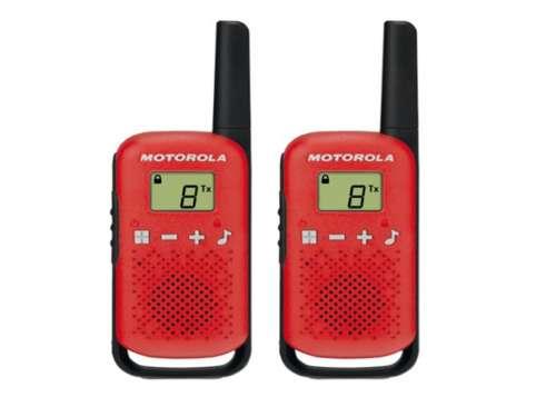 Motorola TLKR T42 Red adó-vevő készülék