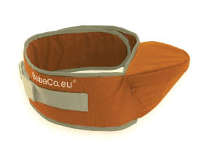 BabaCo Csípőülőke #narancssárga 30332117 Kenguruk, hordozó eszközök