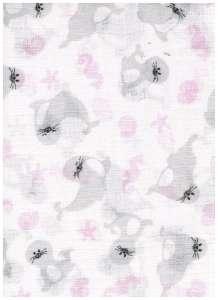 Textil pelenka 1db - Fóka #fehér 30332267 Textil pelenka