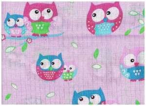 Textil pelenka 1db - Bagoly #lila 30332269 Textil pelenka