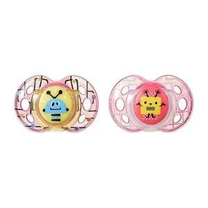 Tommee Tippee Fun Style 6-18hó Játszócumi - 2 db #rózsaszín  30332561