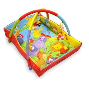 Baby Mix állatmintás peremes játszószőnyeg 30332796