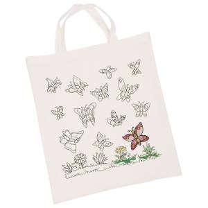 Kifesthető textil zsák - Pillangók 30994447 Üveg és textil festék