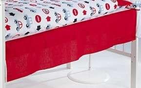 Klups kiságy Hézagtakaró #piros autós 31304081 Kiságy kiegészítő és tartozék