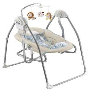 Baby Mix elektromos 2in1 Babahinta - Oroszlánnal és pingvinnel #bézs  30333238