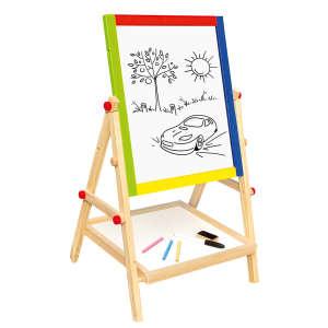 Fa kétoldalas rajztábla állvány 30333314