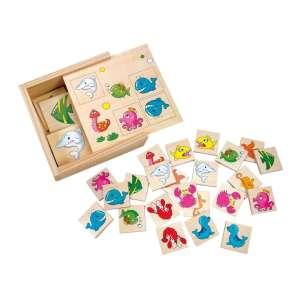 Fa párkereső memória játék, tenger állatok 30333323