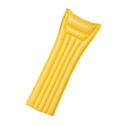 Sárga strandmatrac, 183x69 cm