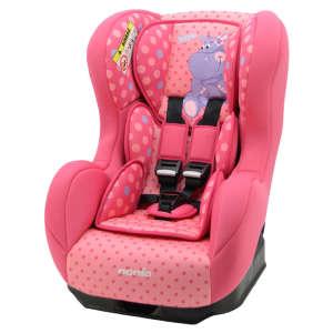 Nania Cosmo Animals Biztonsági Autósülés 0-18 kg - Víziló #rózsaszín 30401008