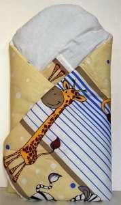 Kókuszpólya - Zsiráf #kék-sárga