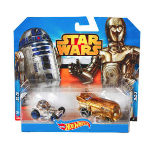 Hot Wheels Star Wars kisautó, R2D2 és C3PO 30477368 Autós játékok, autó, jármű