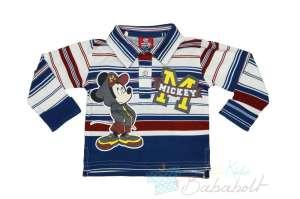 8a2a157703 Disney Mickey galléros hosszú ujjú póló (méret: 74-116) 30485268. 4 kép