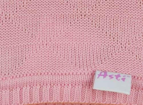 Kötött baba Takaró#rózsaszín