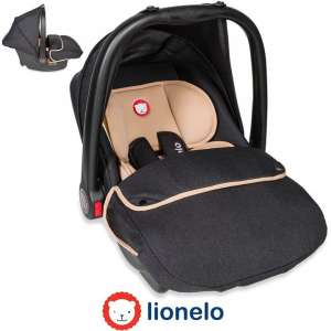 Lionelo Noa Plus Autóshordozó 0-13kg #bézs