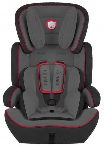 Lionelo Levi Plus Biztonsági Autósülés 9-36kg #fekete-piros