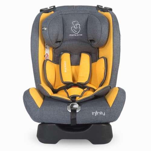 Mama Love Infinity Biztonsági Autósülés 0-36kg #szürke-sárga