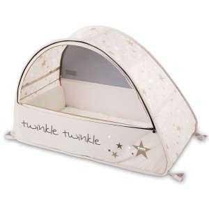 Koo-di Pop Up Sun&Sleep travel bubble cot, twinkle Utazóágy #bézs 30335558