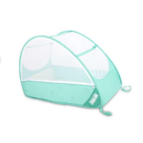 Koo-di Pop Up travel bubble cot cocckato Utazóágy #türkiz