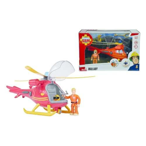 Sam a tűzoltó Wallaby helikopter játék