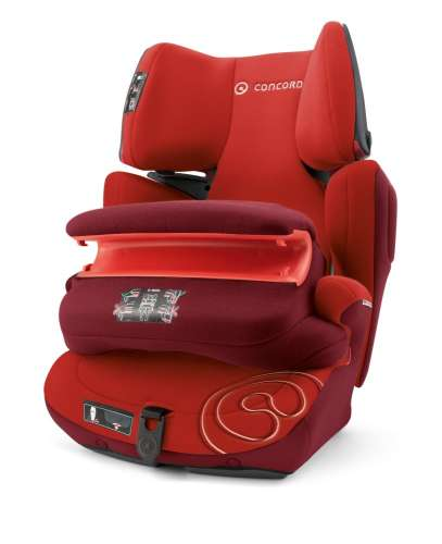 Concord Transformer Pro Autósülés 9-36kg - Tomato Red #piros