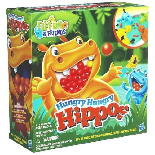 Hungry Hungry Hippos társasjáték