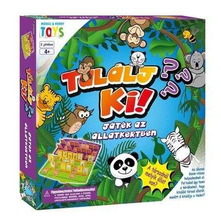 Találj ki! – Játék az állatkertben társasjáték