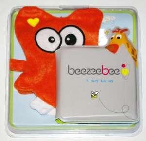 Beezeebee Fürdőkönyv mosdókesztyűvel - Bagoly 30337616 Fürdőjáték