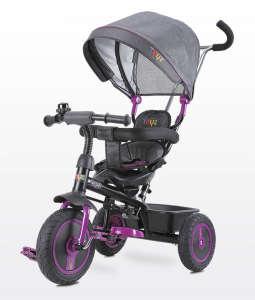 Toyz Buzz Tricikli #lila-fekete 30337723