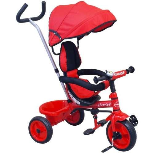 Baby Mix Ecotrike gyermek Tricikli #piros