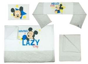 Disney Mickey 4 részes Ágynemű garnitúra 30480327 Ágyneműk