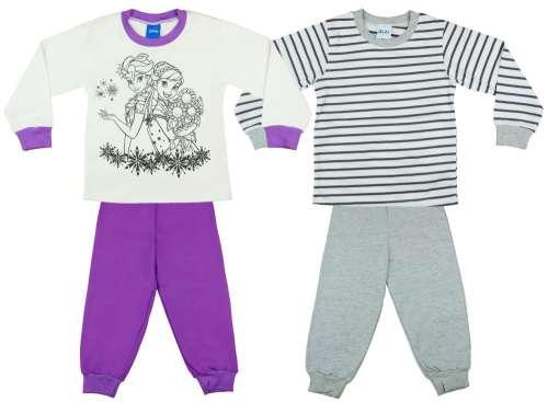 Disney Frozen Jégvarázs lányka páros hosszú Pizsama szett (2db ... 3d1c019d2b
