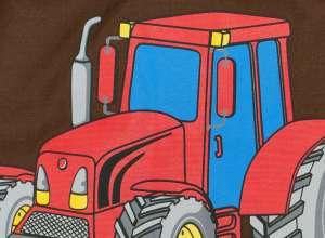 Traktor mintás fiú vállfás Ovis zsák 30379112