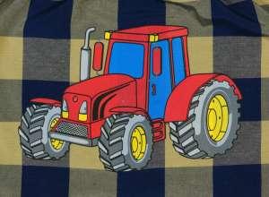 Fiú vállfás Oviszsák - Traktor #kék-bézs 30489039 Pelenkatartó, Ovis zsák