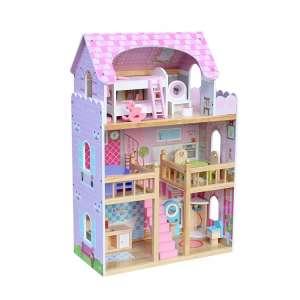 Nadia fa Babaház bútorokkal #rózsaszín 30338272 Babaház, vár, farm
