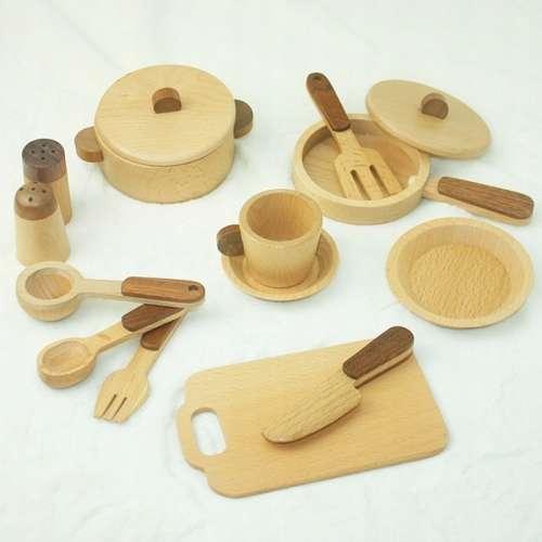 Wooden Toys konyha szett