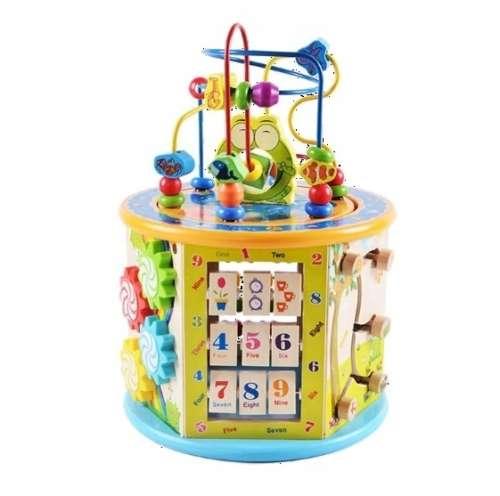 Wooden Toys Interaktív hatszög