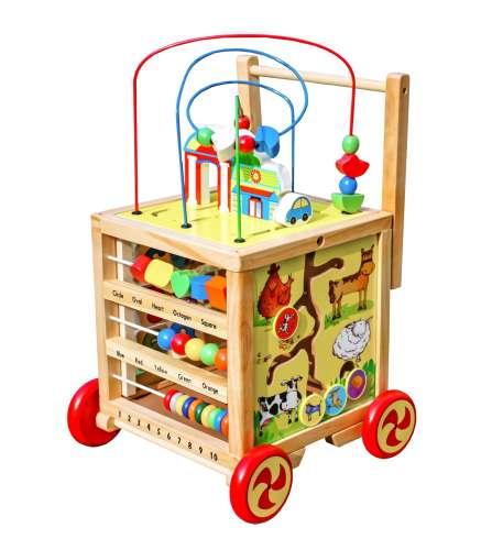 Wooden Toys Interaktív kocka W11