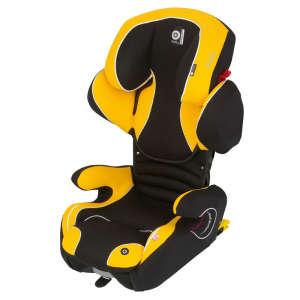 Kiddy Cruiserfix Pro Autósülés 15-36kg #sárga-fekete 30338613 Kiddy Gyerekülés