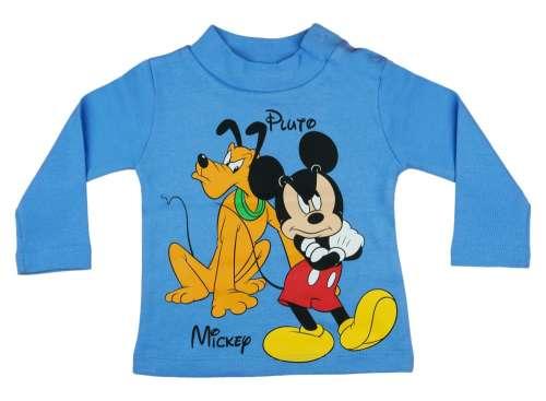 Disney Hosszú ujjú póló - Mickey Mouse és Plútó  kék  9c79054f2b